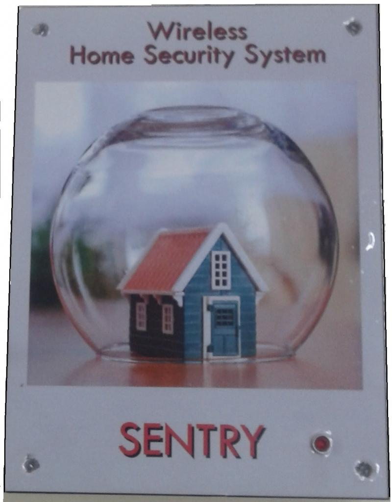 Wireless Home Security Unit SENTRY